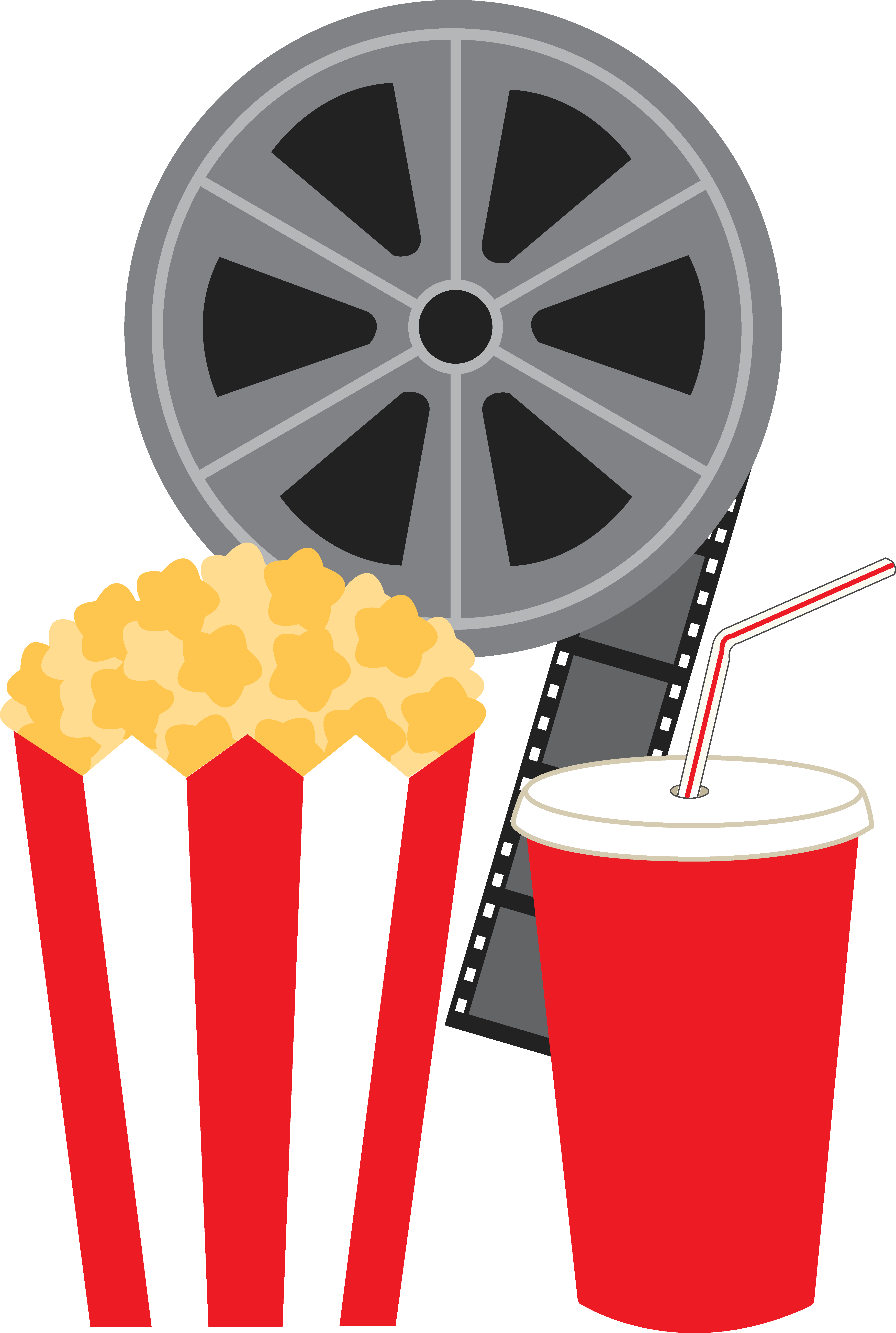 5296x7877 Best Movie Reel Clip Art
