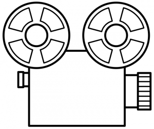 300x252 Movie Reel Clipart Border Free Images