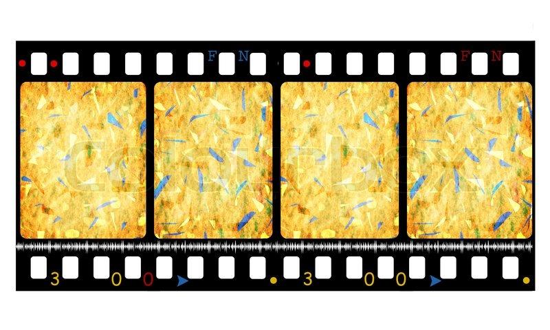 800x480 Old 35 Mm Movie Film Reel,2d Stock Photo Colourbox
