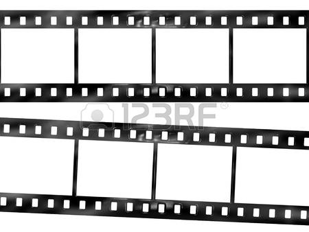 450x338 Vintage Movie Film Strip With Countdown Border Over Grunge