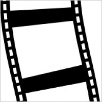 200x200 Clipart Divider Film Page Reel