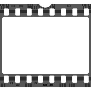 300x300 Film Strip Movie Reel Vector Clipart