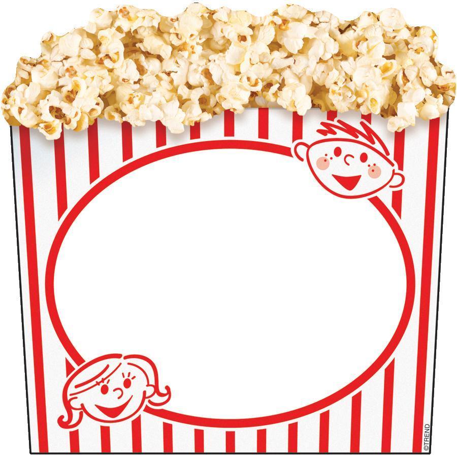 900x900 Movie Clipart Popcorn Box