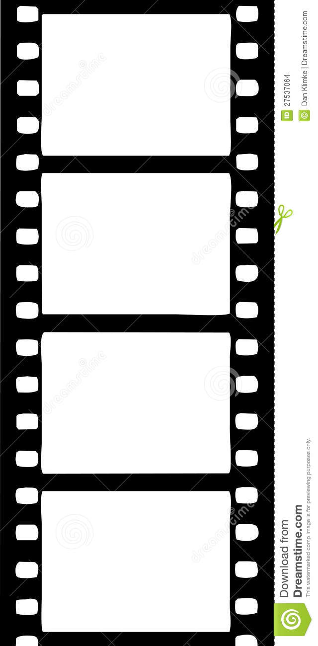 Movie Reel Borders