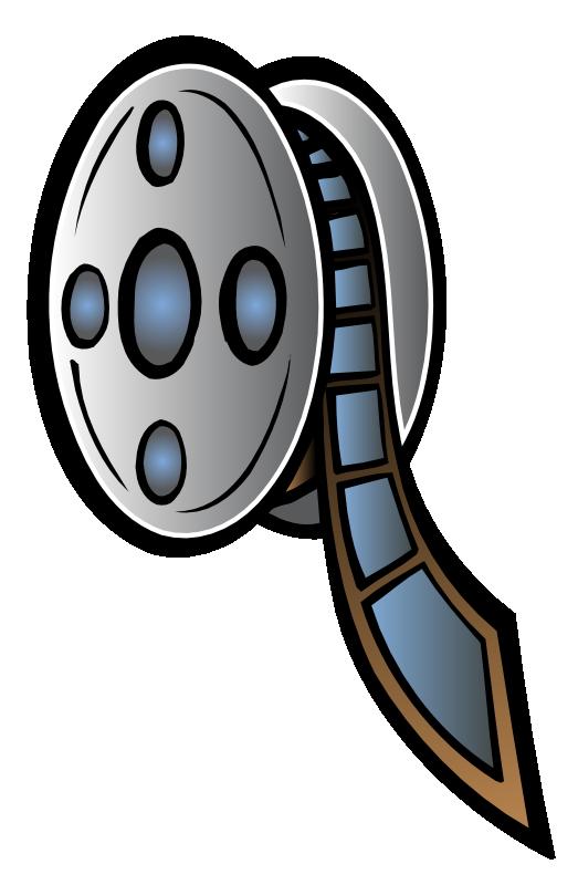 523x800 Film Reel Logo Clipart