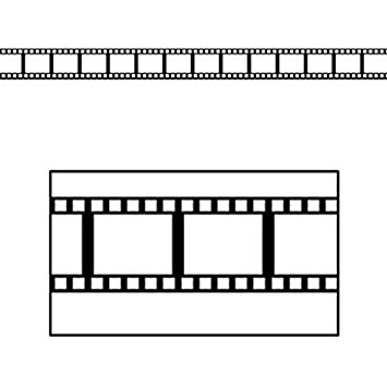 355x355 Filmstrip Border Trim Themed Classroom Displays
