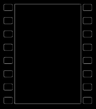 333x377 Border Film Clipart Film Clipart