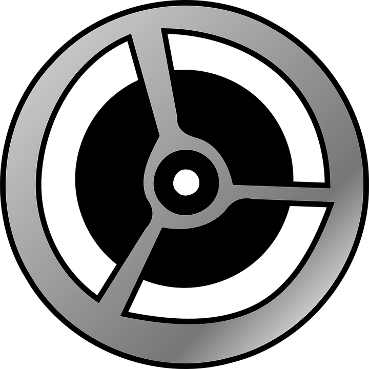 720x720 Movie Clipart Wheel