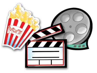 400x301 Movie Reel Film Clipart Image Clipartix