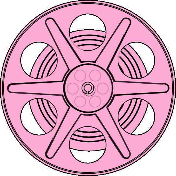 600x600 Pink Reel Clip Art