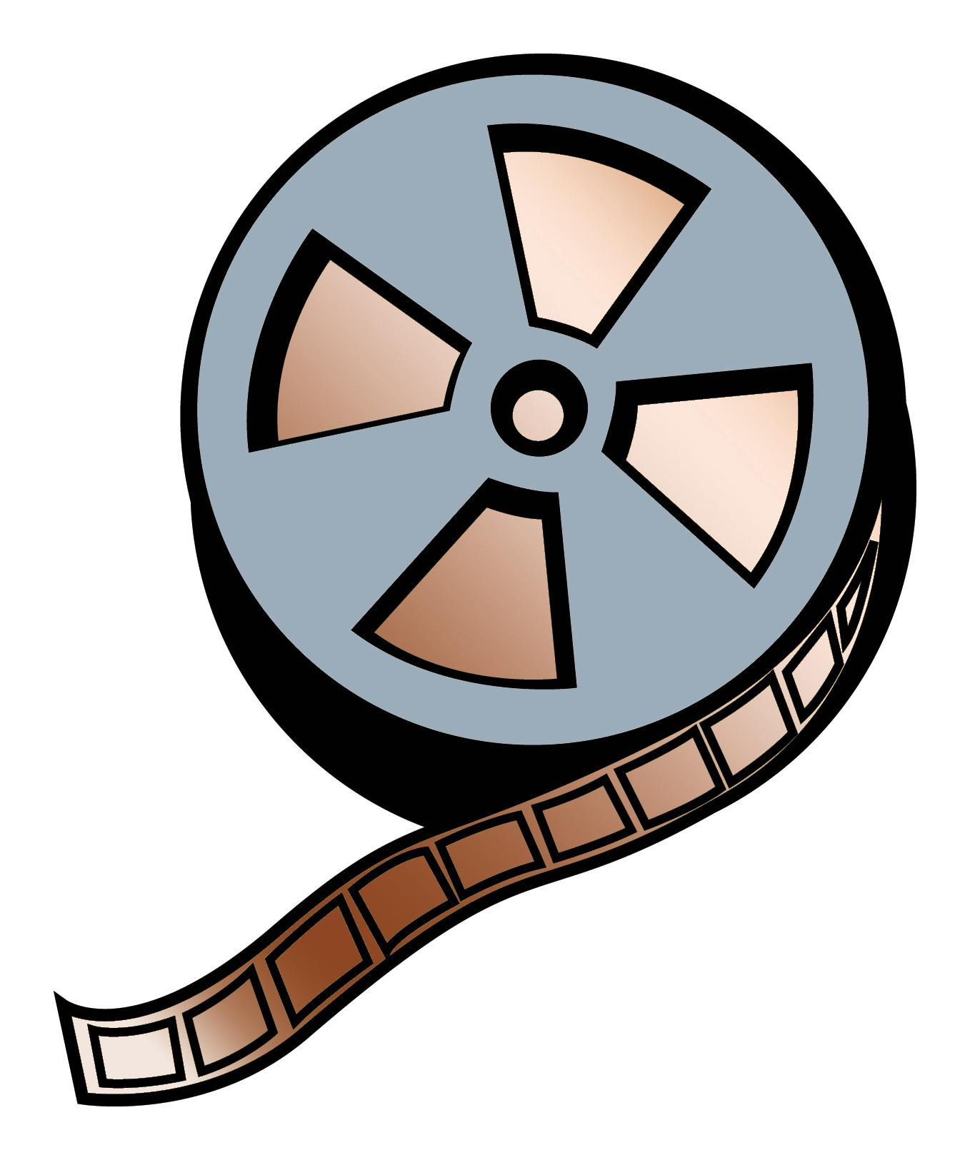 1358x1625 Top Reel Sephia Film Clipart Pictures