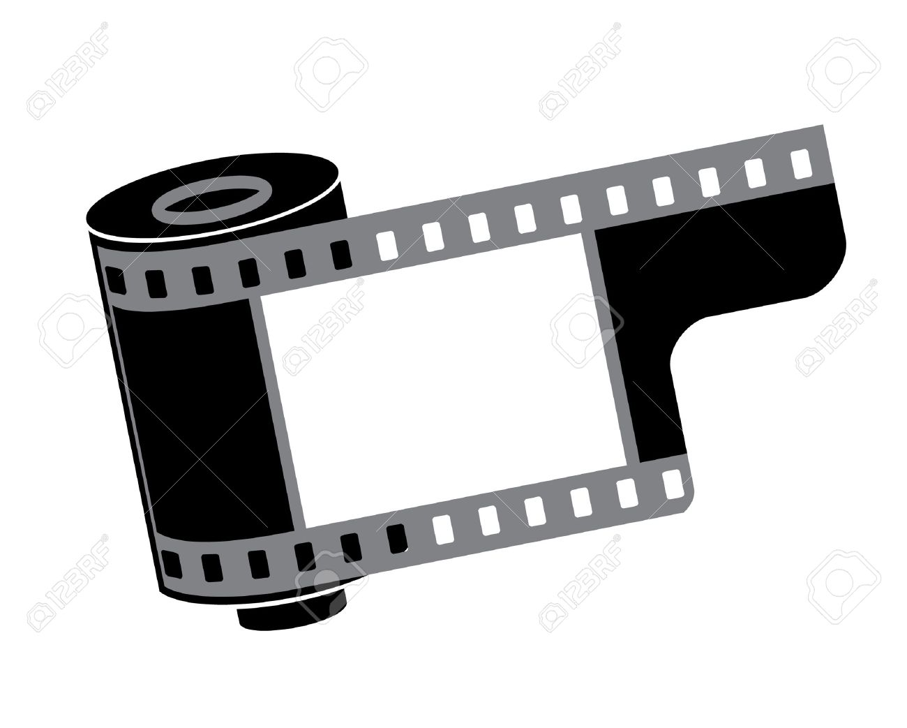 1300x1043 Vector. Film Reel Royalty Free Cliparts, Vectors, And Stock