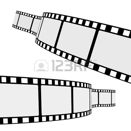 450x450 Collection Of Blank Cinema Film Strip Frames With Different Shape