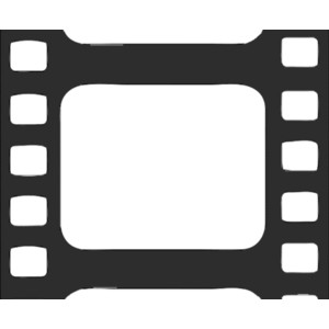 300x300 Film Border Cliparts