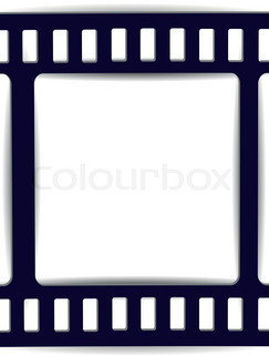 243x320 Film Reel Flat Icon. Editable Eps Vector Format Stock Vector