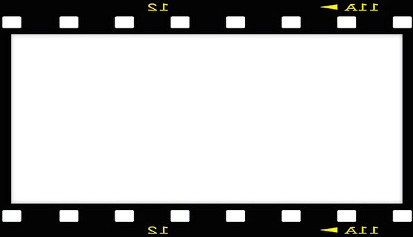 595x342 Picture Frame, Movie, Black, Dark, Film, Border, Edge, Negative