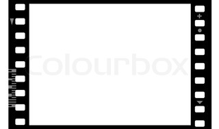 320x188 Cinema Movie Projector And Film Stock Photo Colourbox