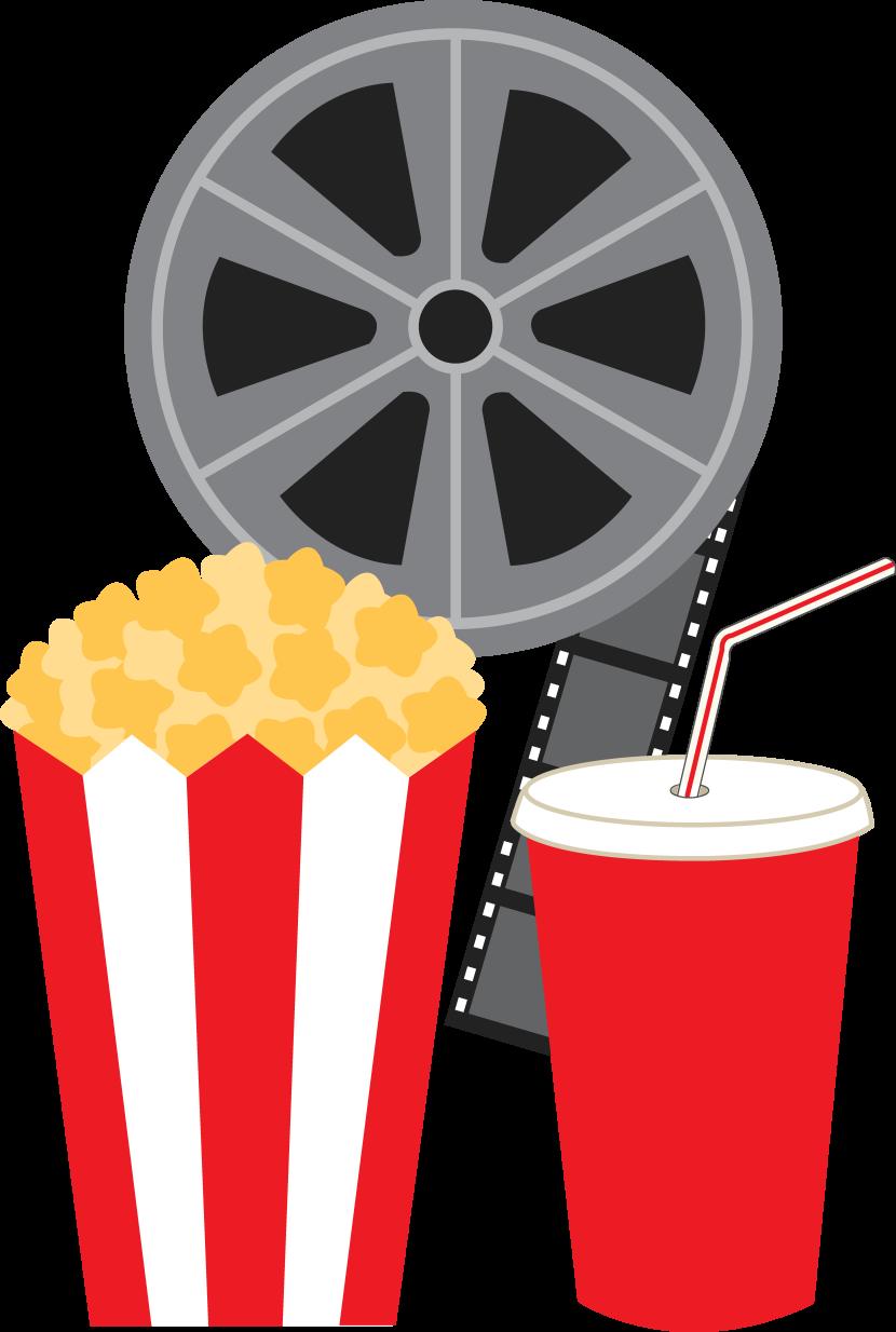 830x1234 Movie Reel Clip Art 2