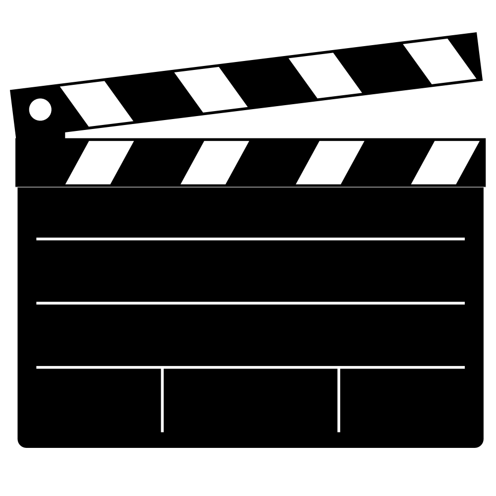 1000x1000 Movie Reel Film Slate Clip Art Clipartfest Reel Movie