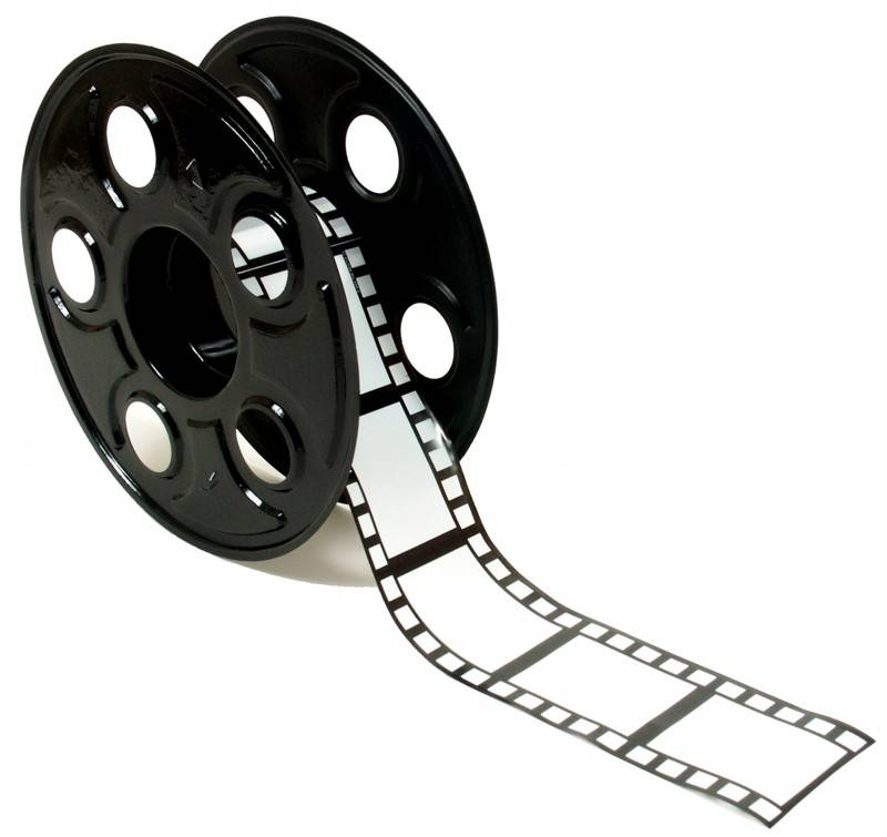 800x755 Old Movie Reel Clipart