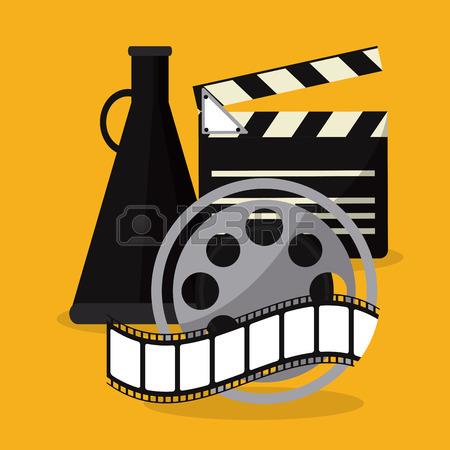 450x450 Movie Room Silhouette People Presentation Film Going To Cinema