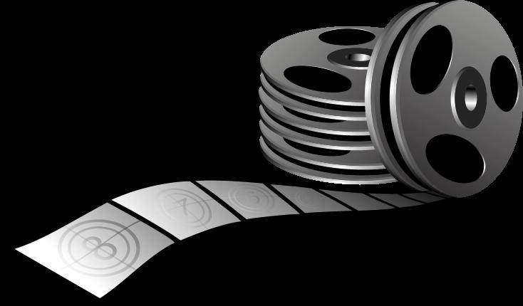 734x430 Movie Clipart Scroll