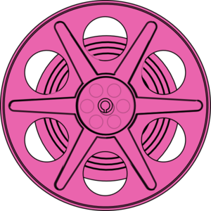 300x300 Pink Reel Clip Art