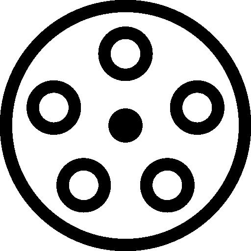 512x512 Reel, Film Icon