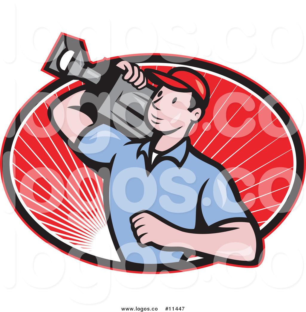 1024x1044 Royalty Free Clip Art Vector Movie Camera Man Logo By Patrimonio