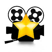 170x170 Clip Art Of Movie Star K12359932