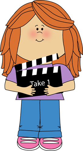 274x500 Movie Director Clipart