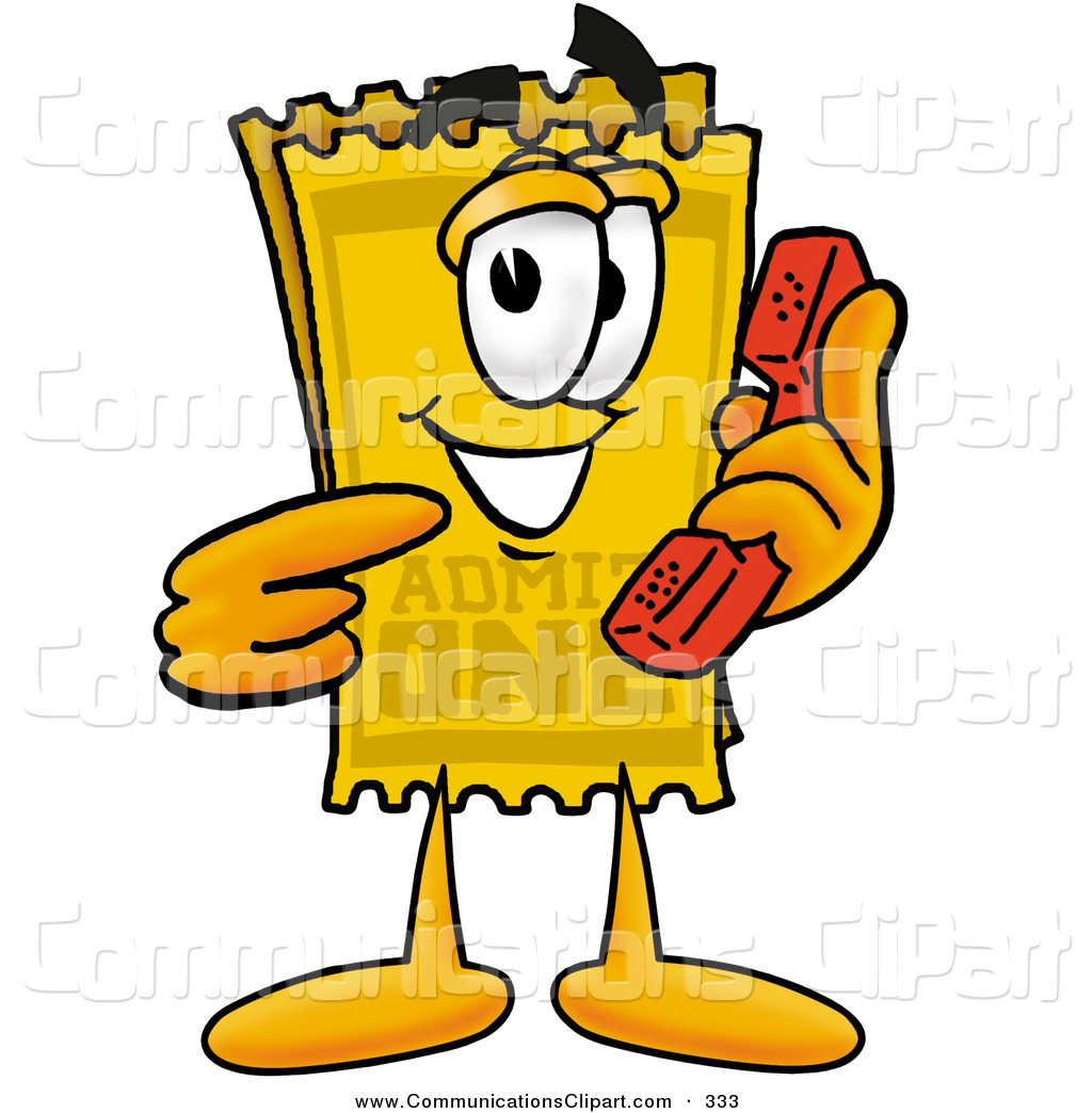 1024x1044 Yellow Ticket Clip Art