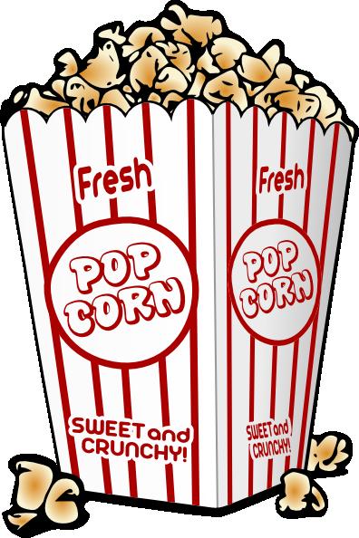 396x594 Free Cartoon Graphics Fair Food Popcorn Clip Art