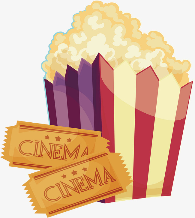 650x727 See The Movie Popcorn, Vector Png, Popcorn, Viewing Set Meal Png