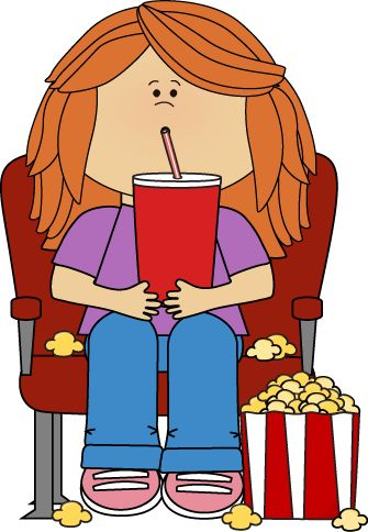 335x484 Boy In Movie Theater With Movie Popcorn And Drink Movie Clip