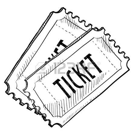 Movie Tickets Clipart