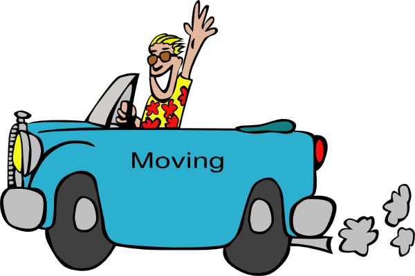 600x399 People Moving Clip Art