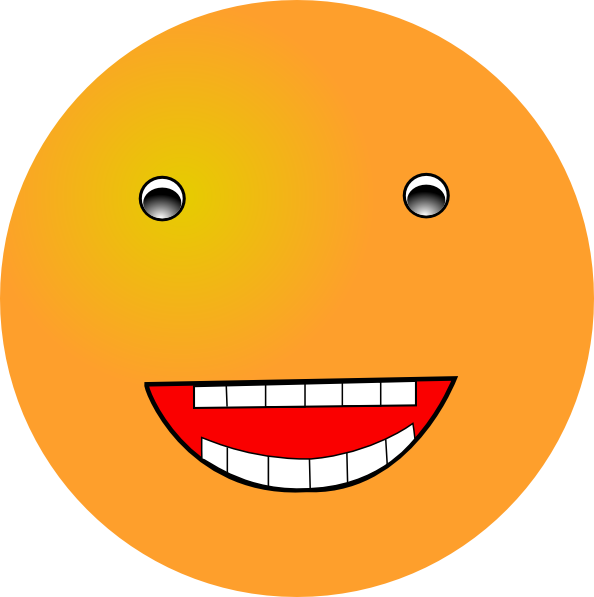 594x597 Laughing Smiley Clip Art