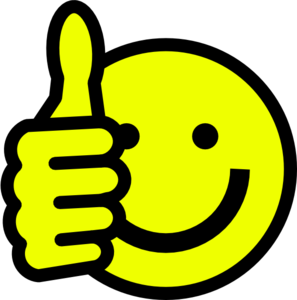 297x300 Moving Clipart Thumbs Up