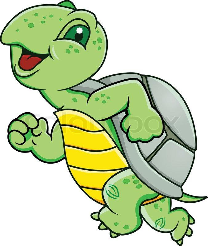 676x800 Tortoise Clipart Run