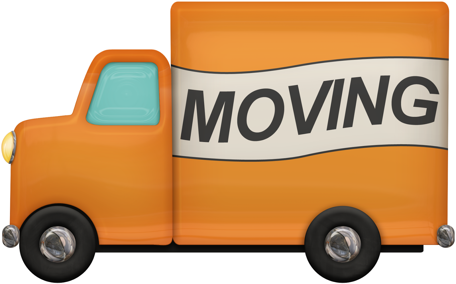1600x996 Free Moving Truck Clipart