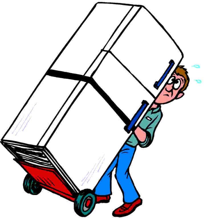 716x768 Moving Van Clip Art