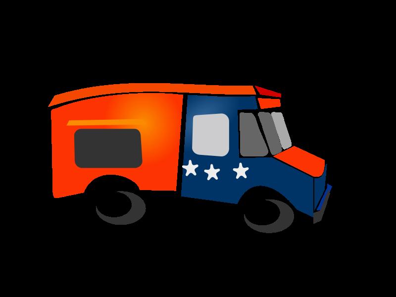 800x600 Moving Van Clip Art