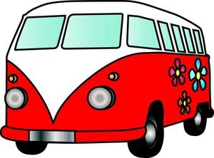 300x222 Moving Van Clipart