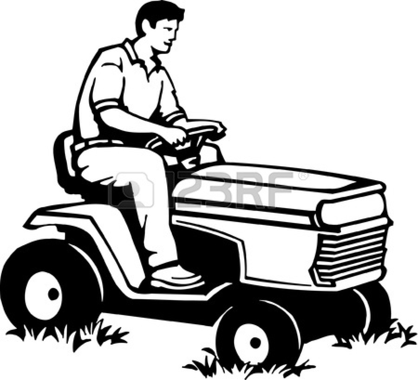 1350x1227 Lawn Mower Pictures Clip Art 17130 And Arts Lawn Mower