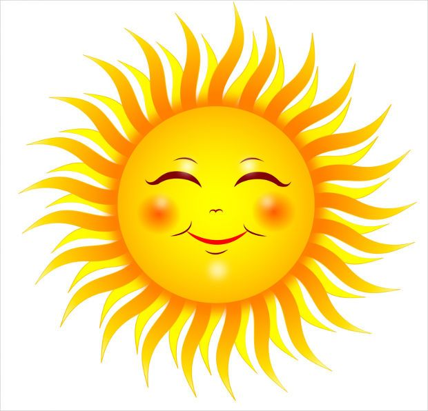 Mr Sun Clipart