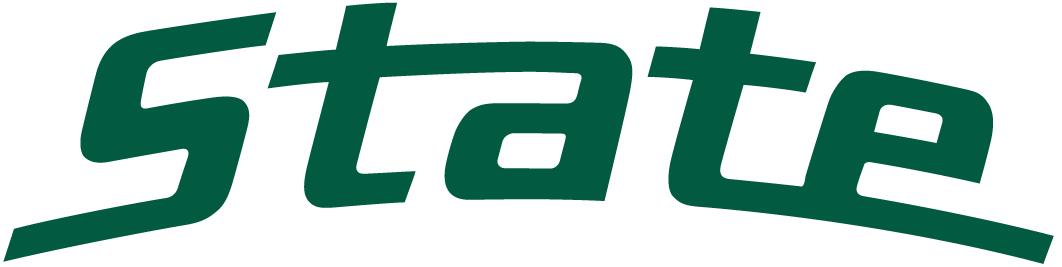1062x267 Msu Spartan Logo Clipart