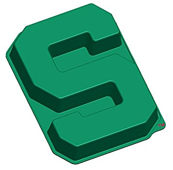 355x349 Ncaa Michigan State Spartans S Cake Pan With Stand