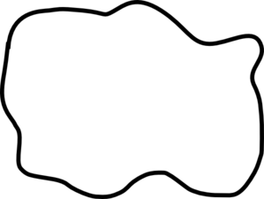 299x225 Puddle Black And White Clip Art