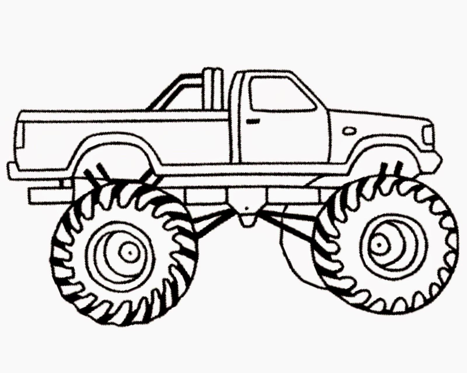 mud truck clipart